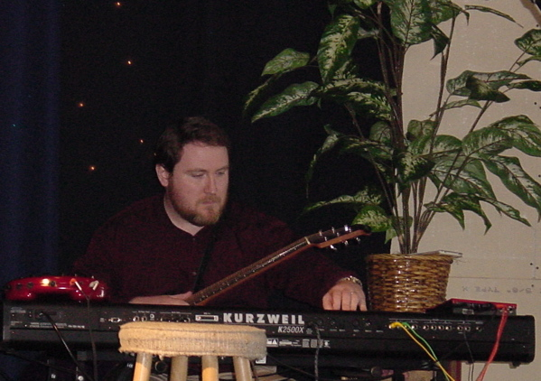 Ben Cox, live at Jozart Studios in 2004